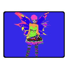 Fairy Punk Double Sided Fleece Blanket (small)  by icarusismartdesigns