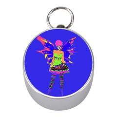 Fairy Punk Mini Silver Compasses by icarusismartdesigns