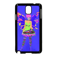 Fairy Punk Samsung Galaxy Note 3 Neo Hardshell Case (black) by icarusismartdesigns