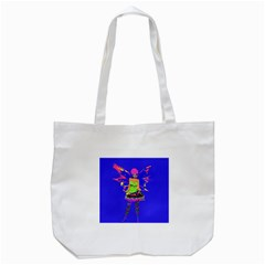 Fairy Punk Tote Bag (white)  by icarusismartdesigns