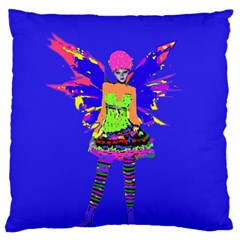 Fairy Punk Standard Flano Cushion Cases (two Sides)  by icarusismartdesigns