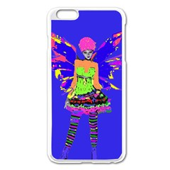 Fairy Punk Apple Iphone 6 Plus Enamel White Case by icarusismartdesigns