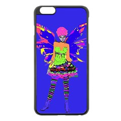 Fairy Punk Apple Iphone 6 Plus Black Enamel Case by icarusismartdesigns