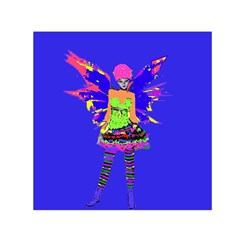 Fairy Punk Small Satin Scarf (square)  by icarusismartdesigns