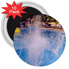 Splash 3 3  Magnets (10 Pack)  by icarusismartdesigns
