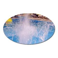 Splash 3 Oval Magnet by icarusismartdesigns
