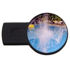 Splash 3 Usb Flash Drive Round (4 Gb)  by icarusismartdesigns