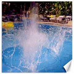 Splash 3 Canvas 12  X 12   by icarusismartdesigns