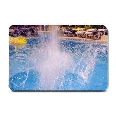 Splash 3 Small Doormat  by icarusismartdesigns