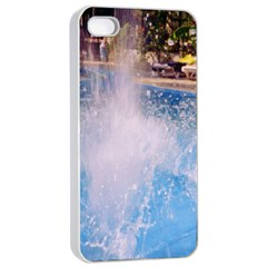 Splash 3 Apple Iphone 4/4s Seamless Case (white) by icarusismartdesigns