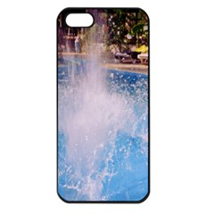 Splash 3 Apple Iphone 5 Seamless Case (black) by icarusismartdesigns