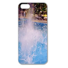 Splash 3 Apple Seamless Iphone 5 Case (clear) by icarusismartdesigns
