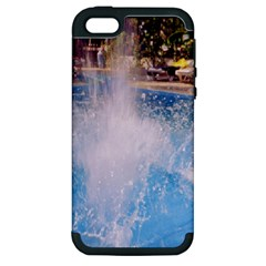 Splash 3 Apple Iphone 5 Hardshell Case (pc+silicone) by icarusismartdesigns