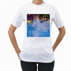Splash 4 Women s T Shirt (white) (two Sided) by icarusismartdesigns