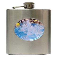 Splash 4 Hip Flask (6 Oz) by icarusismartdesigns