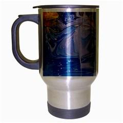 Splash 4 Travel Mug (silver Gray) by icarusismartdesigns