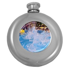 Splash 4 Round Hip Flask (5 Oz)