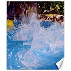 Splash 4 Canvas 8  X 10  by icarusismartdesigns