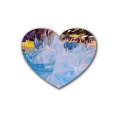 Splash 4 Heart Coaster (4 Pack)  by icarusismartdesigns