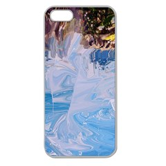 Splash 4 Apple Seamless Iphone 5 Case (clear) by icarusismartdesigns