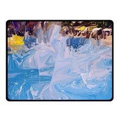 Splash 4 Double Sided Fleece Blanket (small)  by icarusismartdesigns