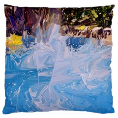 Splash 4 Standard Flano Cushion Cases (one Side)  by icarusismartdesigns