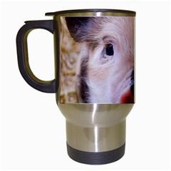 Sweet Piglet Travel Mugs (white)