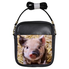 Sweet Piglet Girls Sling Bags by ImpressiveMoments