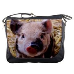 Sweet Piglet Messenger Bags