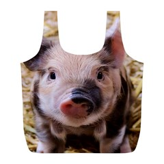 Sweet Piglet Full Print Recycle Bags (l)