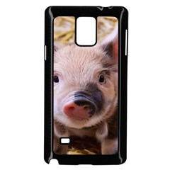 Sweet Piglet Samsung Galaxy Note 4 Case (black)