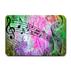Abstract Music  Small Doormat  by ImpressiveMoments