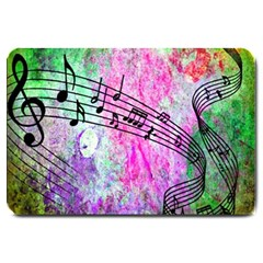 Abstract Music  Large Doormat