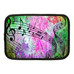 Abstract Music  Netbook Case (medium)