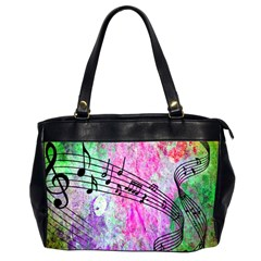 Abstract Music  Office Handbags (2 Sides)  by ImpressiveMoments