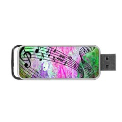 Abstract Music  Portable Usb Flash (two Sides) by ImpressiveMoments