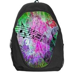 Abstract Music  Backpack Bag