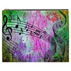 Abstract Music  Cosmetic Bag (xxxl)