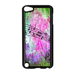 Abstract Music  Apple Ipod Touch 5 Case (black)