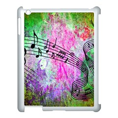 Abstract Music  Apple Ipad 3/4 Case (white)