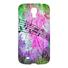 Abstract Music  Samsung Galaxy S4 I9500/i9505 Hardshell Case