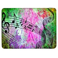 Abstract Music  Samsung Galaxy Tab 7  P1000 Flip Case