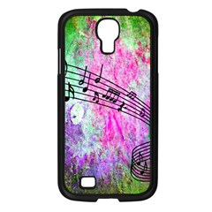 Abstract Music  Samsung Galaxy S4 I9500/ I9505 Case (black) by ImpressiveMoments