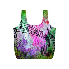 Abstract Music  Full Print Recycle Bags (s)