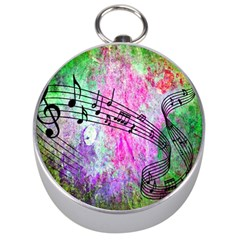 Abstract Music  Silver Compasses