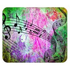 Abstract Music  Double Sided Flano Blanket (Small)