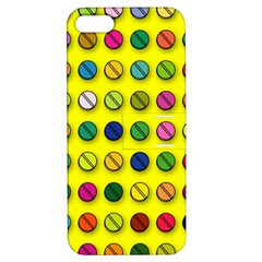 Multi Col Pills Pattern Apple Iphone 5 Hardshell Case With Stand by ScienceGeek