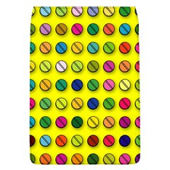 Multi Col Pills Pattern Flap Covers (l)  by ScienceGeek
