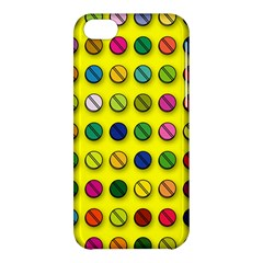 Multi Col Pills Pattern Apple Iphone 5c Hardshell Case by ScienceGeek