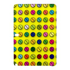 Multi Col Pills Pattern Samsung Galaxy Tab Pro 10 1 Hardshell Case by ScienceGeek